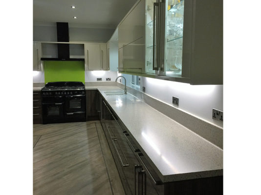 Fitted Corian Kitchen