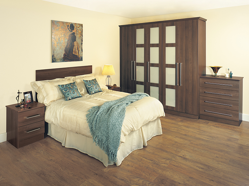 Premier Tobacco Stylish Modern Bedroom