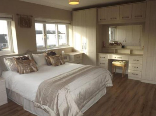 White Abola Fitted Bedroom