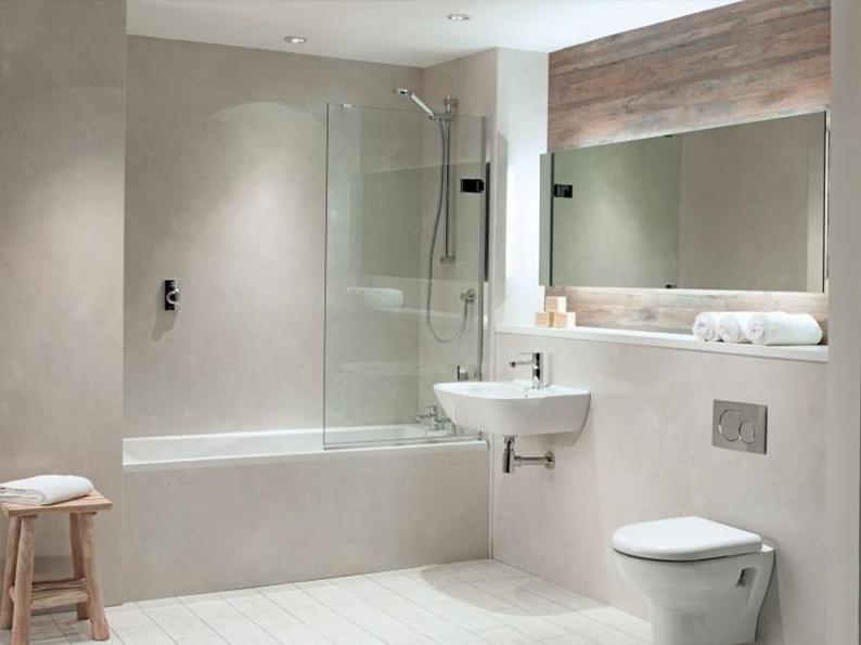 Bushboard Nuance Pearl Marble Bathroom Panels - NJ Design Ltd