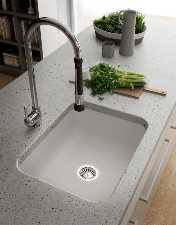 Lg Himacs Worktop In Verona By Prestige .. Hi Macs Sinks